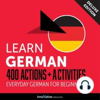 Everyday German for Beginners - 400 Actions & Activities