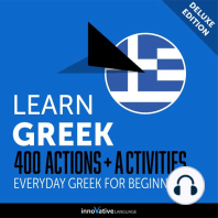 Everyday Greek for Beginners - 400 Actions & Activities