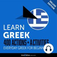 Everyday Greek for Beginners - 400 Actions & Activities