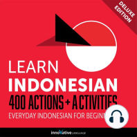 Everyday Indonesian for Beginners - 400 Actions & Activities