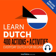 Everyday Dutch for Beginners - 400 Actions & Activities