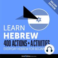 Everyday Hebrew for Beginners - 400 Actions & Activities