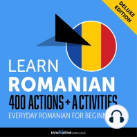 Everyday Romanian for Beginners - 400 Actions & Activities