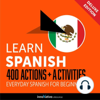 Everyday Spanish for Beginners - 400 Actions & Activities