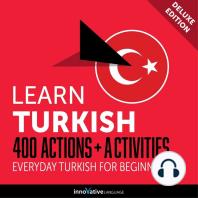 Everyday Turkish for Beginners - 400 Actions & Activities