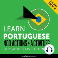 Everyday Portuguese for Beginners - 400 Actions & Activities