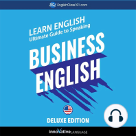 Learn English: Ultimate Guide to Speaking Business English for Beginners (Deluxe Edition)