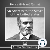 An Address to the Slaves of the United States