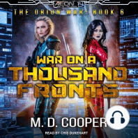 War on a Thousand Fronts: The Orion War, Book 6