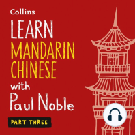 Learn Mandarin Chinese with Paul Noble – Part Three