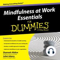 Mindfulness at Work Essentials for Dummies