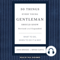 50 Things Every Young Gentleman Should Know