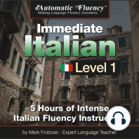 Automatic Fluency® Immediate Italian Level 1