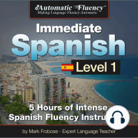 Automatic Fluency® Immediate Spanish - Level 1