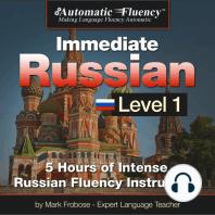 Automatic Fluency® Immediate Russian Level 1