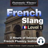 Automatic Fluency® French Slang Level 1