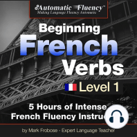 Automatic Fluency® Beginning French Verbs Level I