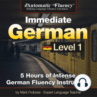 Automatic Fluency® Immediate German Level 1