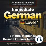 Automatic Fluency® Immediate German Level 1