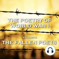 Poetry of World War I, The - Vol II - The Fallen Poets