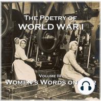 Poetry of World War I, The - Volume III -