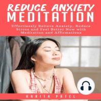 Reduce Anxiety Meditation