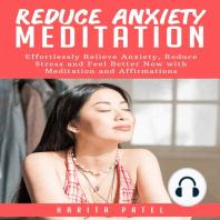 Reduce Anxiety Meditation