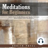 Meditations for Beginners
