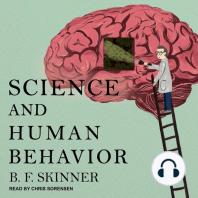 Science and Human Behavior