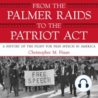 From the Palmer Raids to the Patriot Act