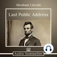 Last Public Address
