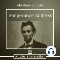 Temperance Address