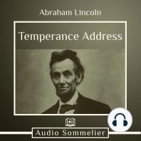Temperance Address