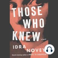 Those Who Knew