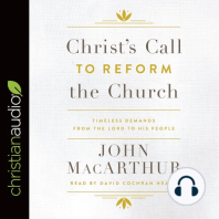 Christ's Call to Reform the Church