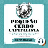 Pequeño cerdo capitalista. Gastos hormiga