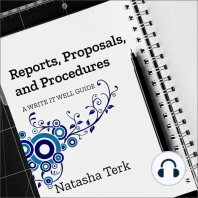 Reports, Proposals, and Procedures