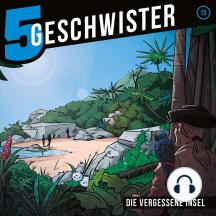 Die vergessene Insel (5 Geschwister 13): Kinder-Hörspiel