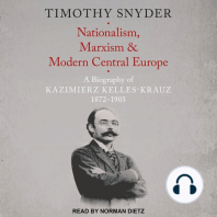Nationalism, Marxism, and Modern Central Europe