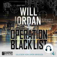 Operation Black List - Ryan Drake 4 (Ungekürzt)