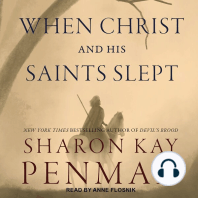 When Christ and His Saints Slept