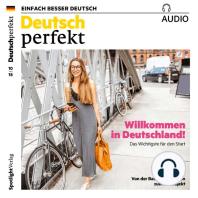 Deutsch lernen Audio - Willkommen in Deutschland!