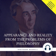 Appearance and Reality from the Problems of Philosophy