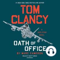 Tom Clancy's Oath of Office: A Jack Ryan Novel