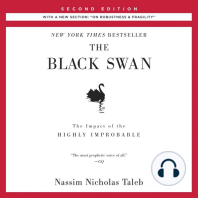 """Black Swan, The: The Impact of the Highly Improbable: Second Edition: With a New Section: """"On Robustness and Fragility"""""""