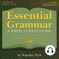 Essential Grammar