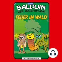 Feuer im Wald (Balduin der Regenwurm 5): Ein musikalisches Kinder-Hörspiel