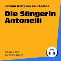 Die Sängerin Antonelli
