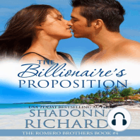 Billionaire's Proposition, The - The Romero Brothers Book 4