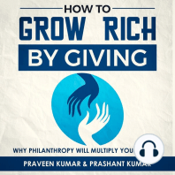 How to Grow Rich by Giving